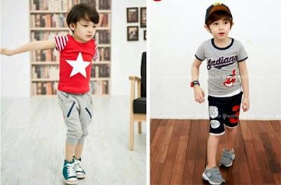 model baju anak laki laki