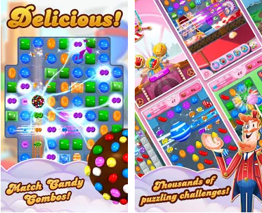 Candy Crush Soda Saga MOD APK v1.157.3 [Unlock All/Unlimited Lives/Boosters]