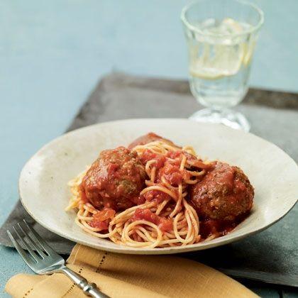Hearty Spaghetti and Meatballs