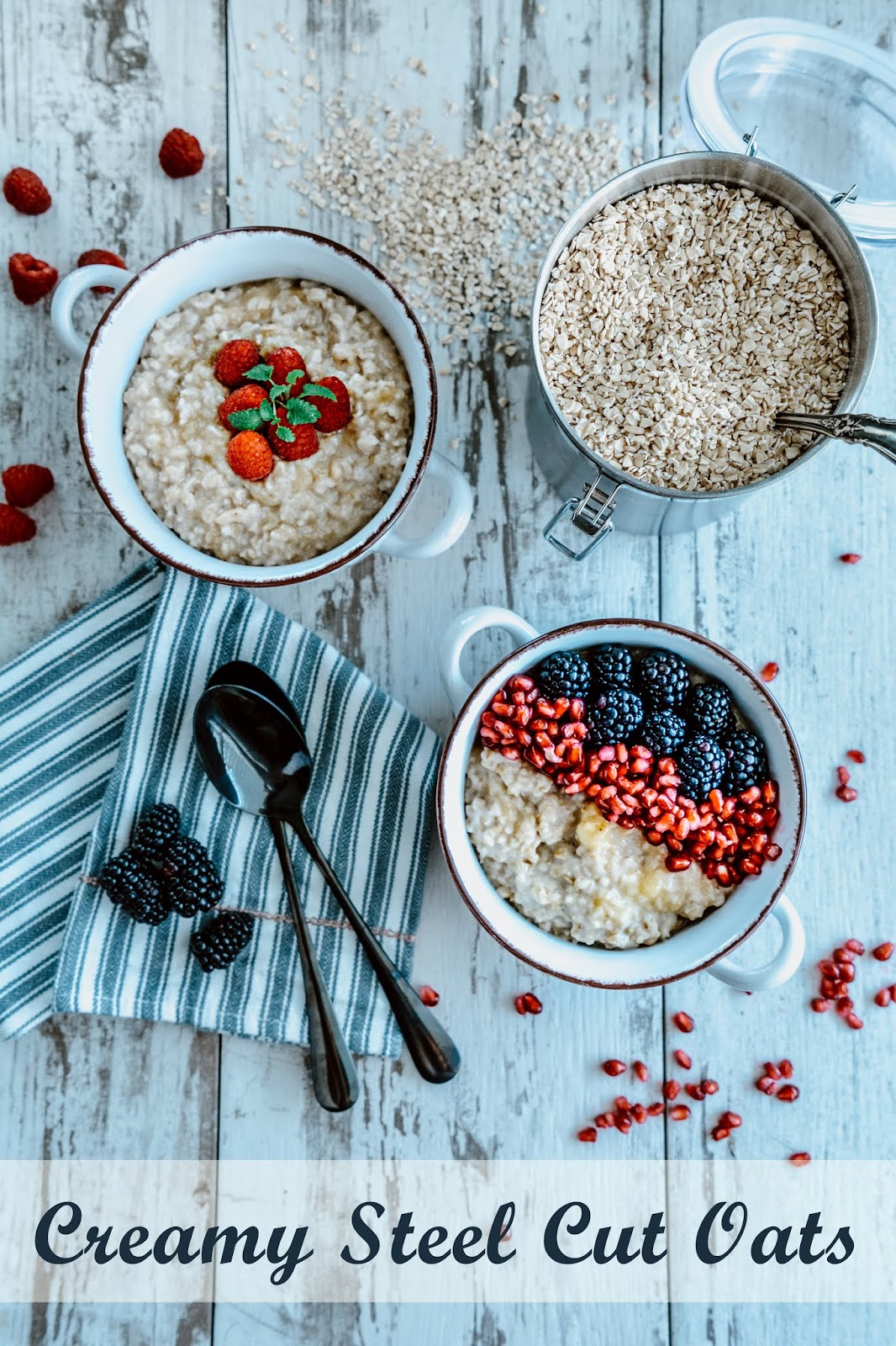 Creamy Steel Cut Oats