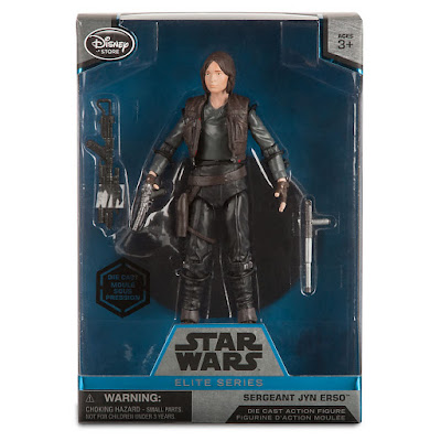 "Disney Store Exclusive Star Wars: Rogue One Sergeant Jyn Erso Elite Series Die Cast 6"" Action Figure"