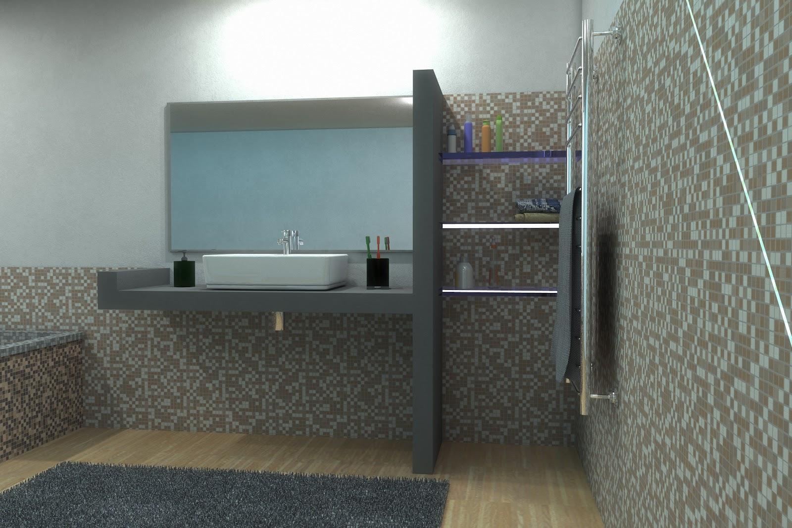 Bagno Legno E Mosaico : Bagno parquet mosaico il mosaico a san vittore olona mi pavimenti