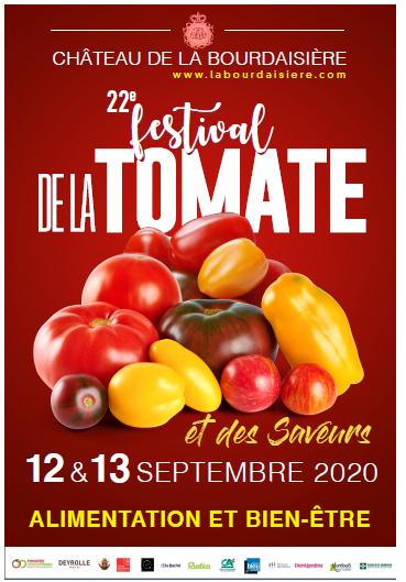 22éme édition Festival de la tomate et des saveurs au château de la Bourdaisière