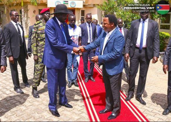 Aftermath Of Tb Joshua Visit To South Sudan: Kiir,  Machar Sues For Peace