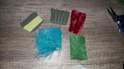 comment fabriquer une boite sensorielle toucher petit enfant facile tissu pull chute