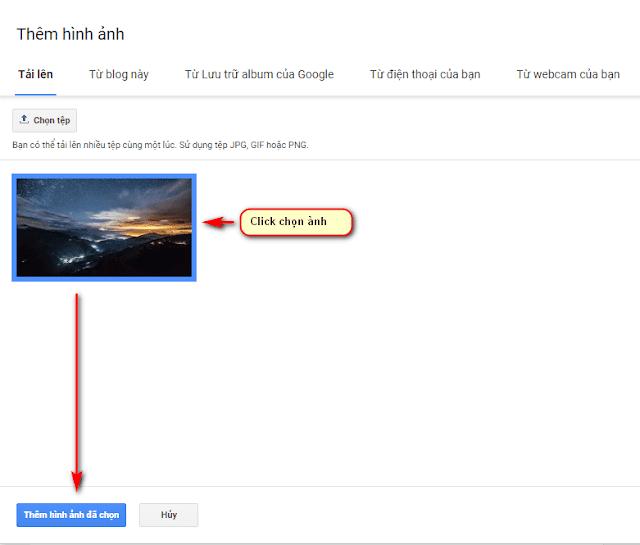 Hướng dẫn upload ảnh lên Google Photos và lấy link ảnh