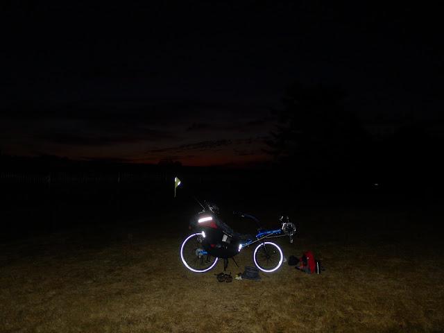 De Paris à la Rochelle en vélo couché, départ matinal
