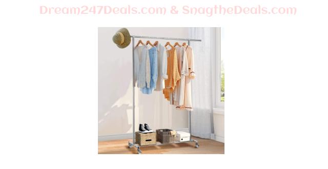 Commercial Grade Clothing Garment Rack 40.01% OFF