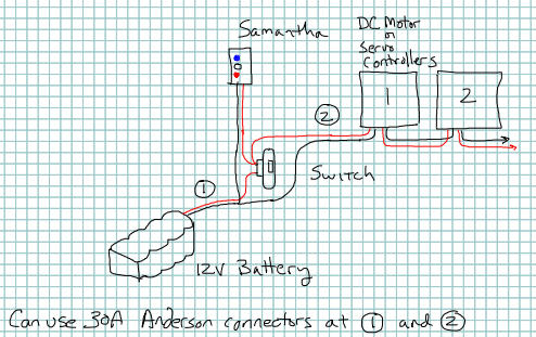 wiring configuration found on the first website at  http://www usfirst org/roboticsprograms/ftc/samantha  make sure you have as  few connections as