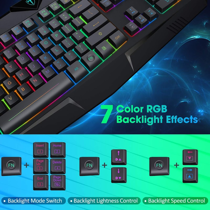 AMAZON - 20% OFF USB Wired Gaming Keyboard