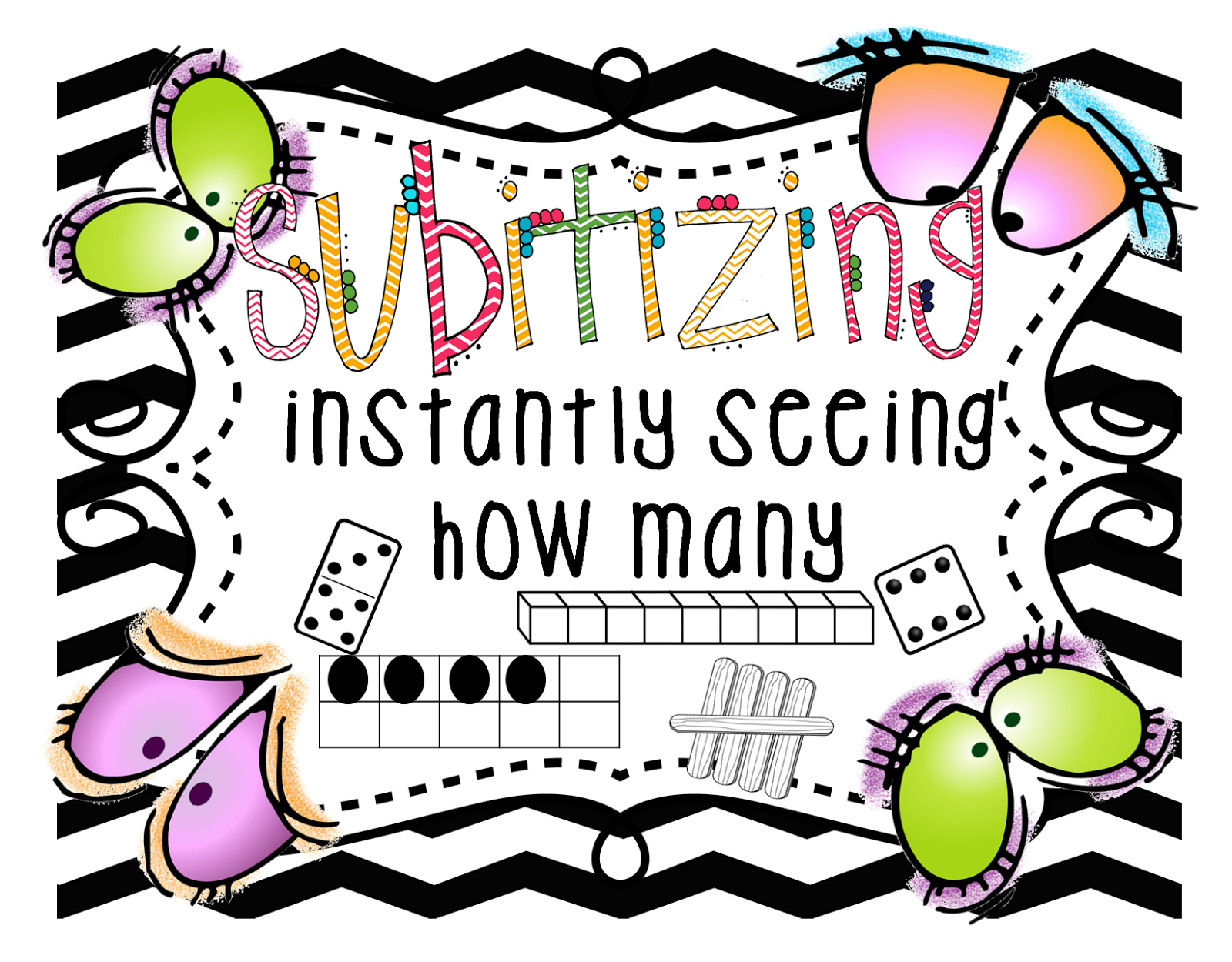 First Grade Wow Subitizing Sampler