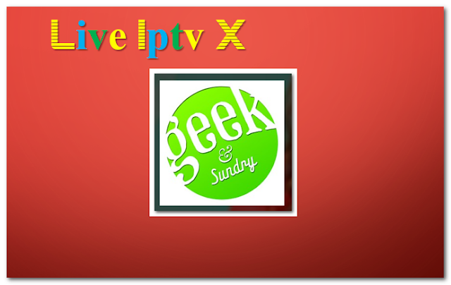 Geek & Sundry technology addon