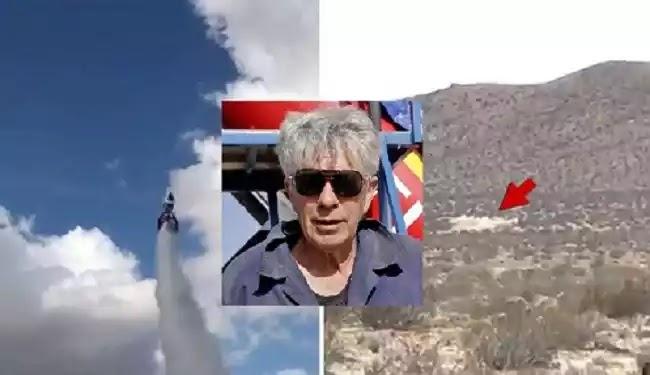 Νεκρός ο ριψοκίνδυνος Mad Mike μετά από συντριβή αυτοσχέδιου πυραύλου