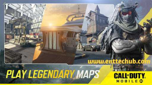 Play Call of Duty Mobile in different outstanding locations