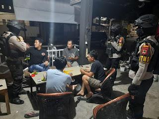Patroli Biru Oleh Satuan Sabhara Polres Enrekang