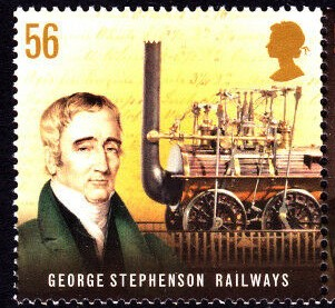 George Stephenson, English engineer and academic