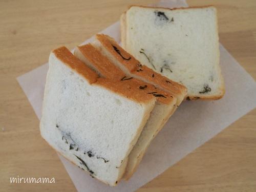 こんぶ食パン