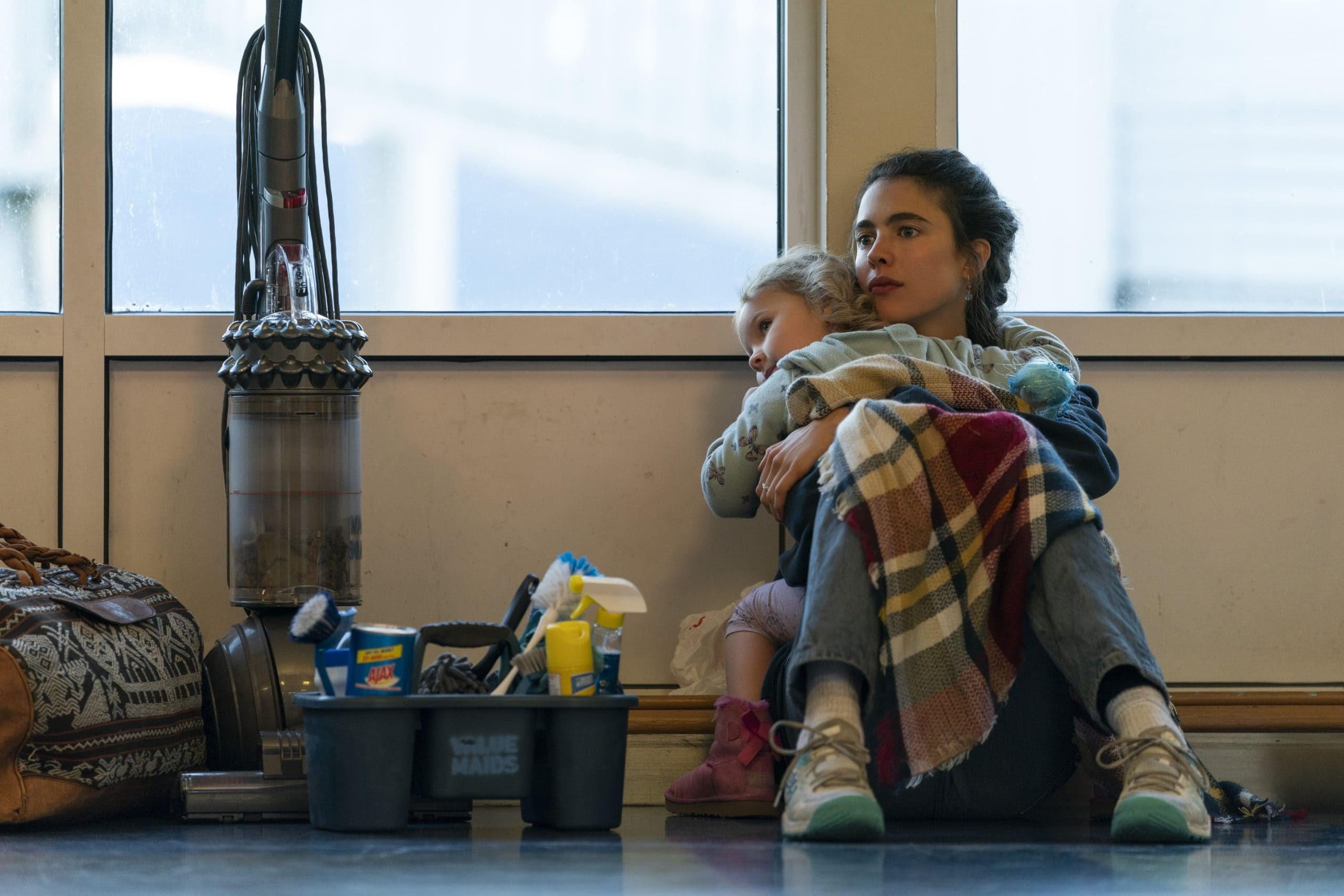 Trailer for Netflix Series ' Maid ' : マーゴット・ロビーが仕掛け人をつとめて、マーガレット・クアリーとアンディ・マクダウェルの母と娘の共演を実現し、最低賃金でトイレを掃除し、書くことで自らを救ったシングルマザーの物語を配信シリーズ化した「メイドの手帖」の予告編 ! !