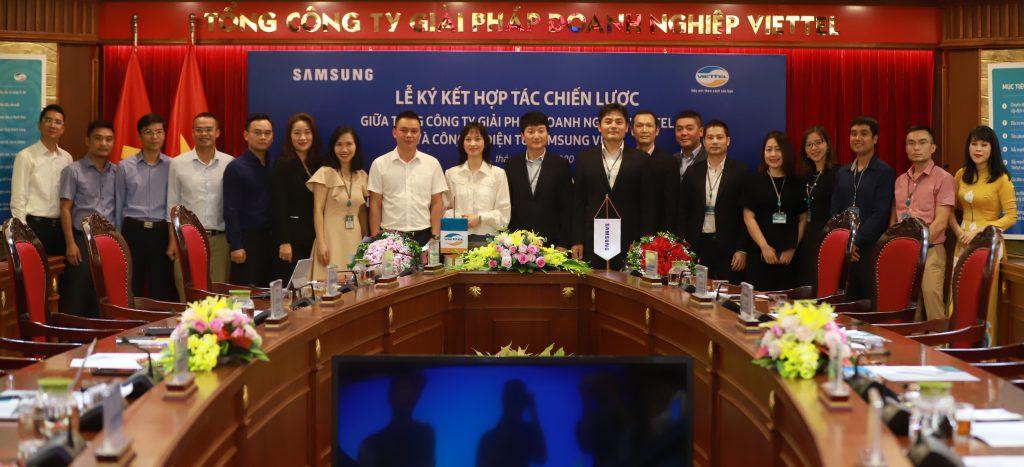 Viettel Solutions và Samsung Vina hợp tác triển khai các giải pháp thành phố thông minh