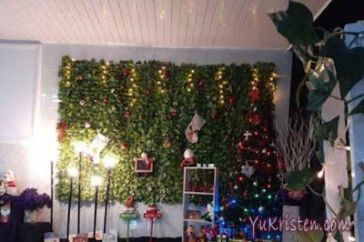 dekorasi natal gereja 5