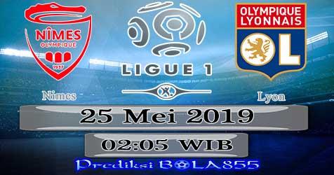 Prediksi Bola855 Nimes vs Lyon 25 Mei 2019