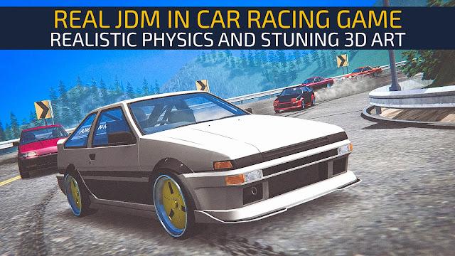 JDM Racing V1.3.2 MOD APK – PARA HİLELİ