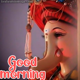 good morning ganesha photos