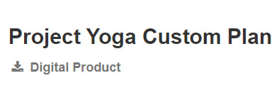 Project Yoga, Project Yoga reviews, Project Yoga review, Project Yoga Custom Plan, Project Yoga Custom Plan review, Customised Online Yoga Lessons,
