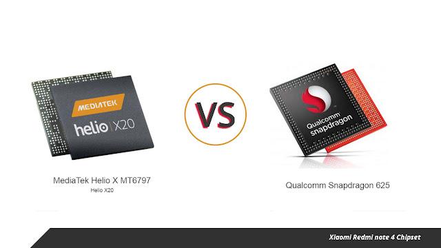 Membandingkan Xiaomi Redmi Note 4 Snapdragon 625 Vs Helio X20