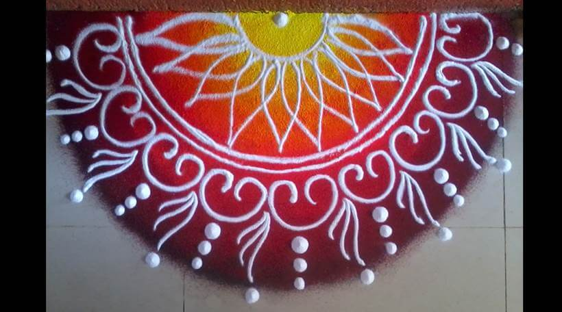 BIG RANGOLI DESIGN FOR DIWALI_uptodatedaily