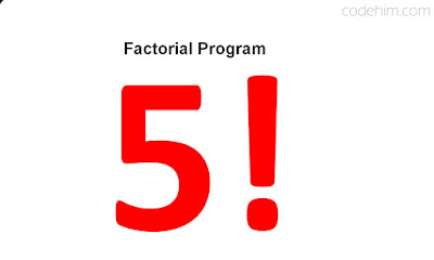 Factorial Program in C++ Using While Loop Structure