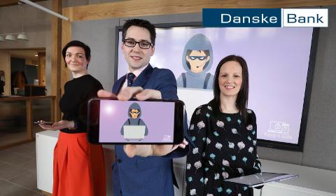 L'équipe fraude et cybercriminalité de Danske Bank UK