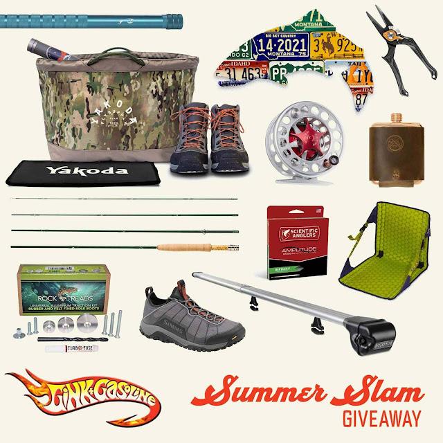 GINK & GASOLINE - Summer Slam Giveaway