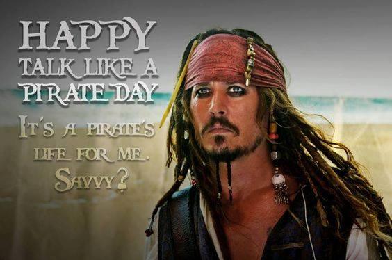 Talk Like a Pirate Day