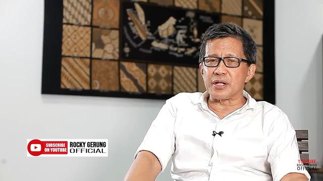 Rocky Gerung: Jokowi Tidak Punya Empati Sikapi Gerakan Mahasiswa