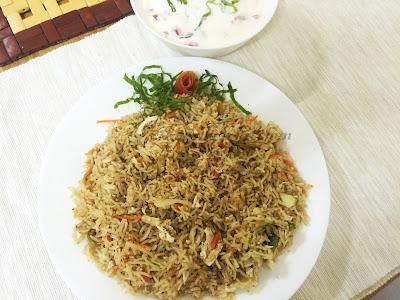 ayeshas kitchen ayesha farah Chicken fried rice thai style kerala rice recipes chicken recipes