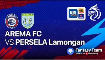 Link Live Streaming Arema FC vs Persela Lamongan Liga 1 BRI 2021 Disiarkan Dimana dan Jam Berapa Hari Ini