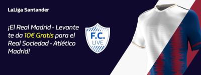 william hill promo Real Madrid vs Levante 14 septiembre 2019