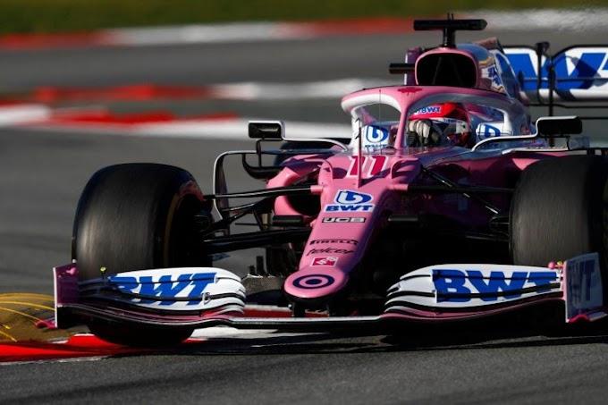 """Racing Point está encantada con que todos los ojos miren a su """"Mercedes"""" rosa"""