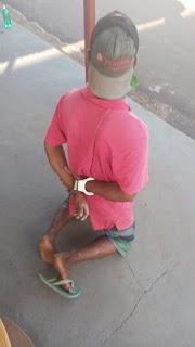Ladrão audacioso que roubou moto do Pátio da Delegacia Regional de Pinheiro é preso horas depois
