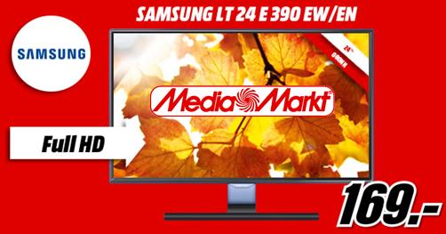Monitor, Samsung TV, 24 Ιντσών, LED, Full HD, Προφορά, Media Markt, Έκπτωση