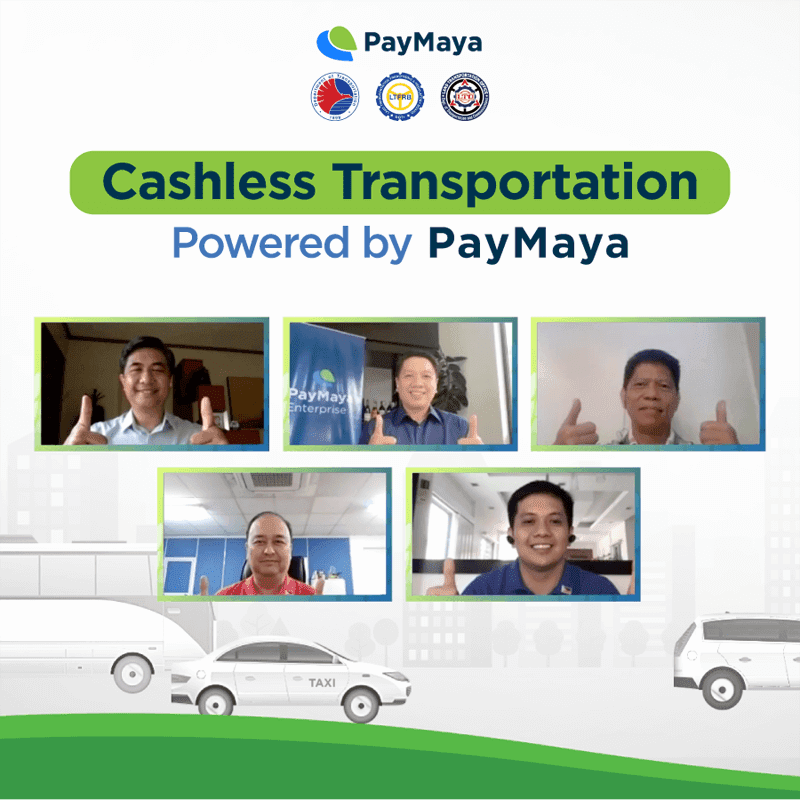 PayMaya supports local transport sector through its cashless payment solutions
