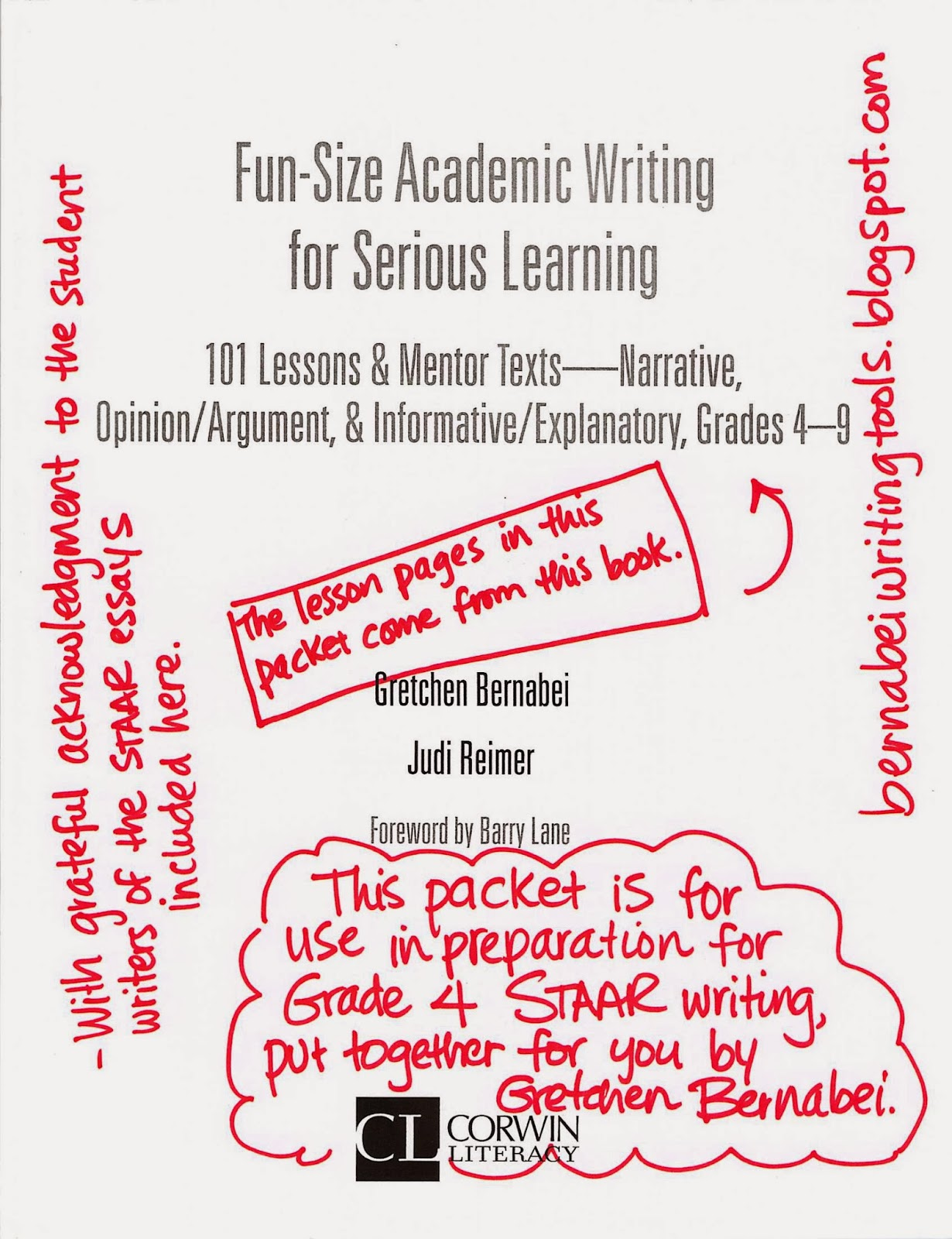 4th Grade Staar Writing Prompt Examples