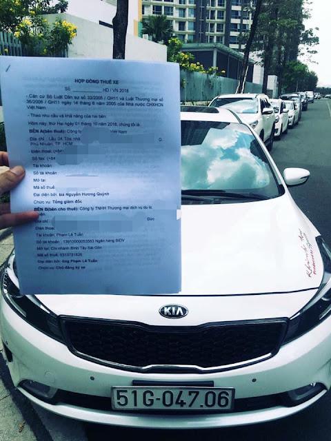 Cho thue xe du lich 4 cho Kia Cerato Ho Chi Minh - Sai Gon