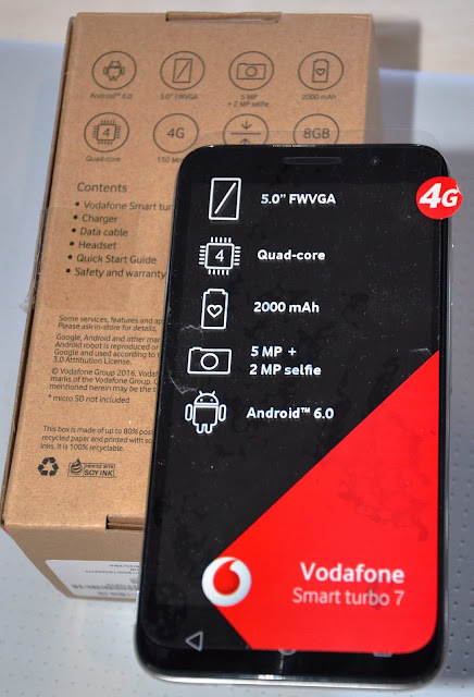 Product Review - @Vodacom Smart Prime 7 and Smart Turbo 7 #Android #Smartphone