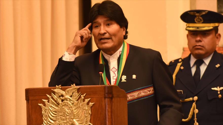 Morales arremete contra Almagro por defender solo a la derecha
