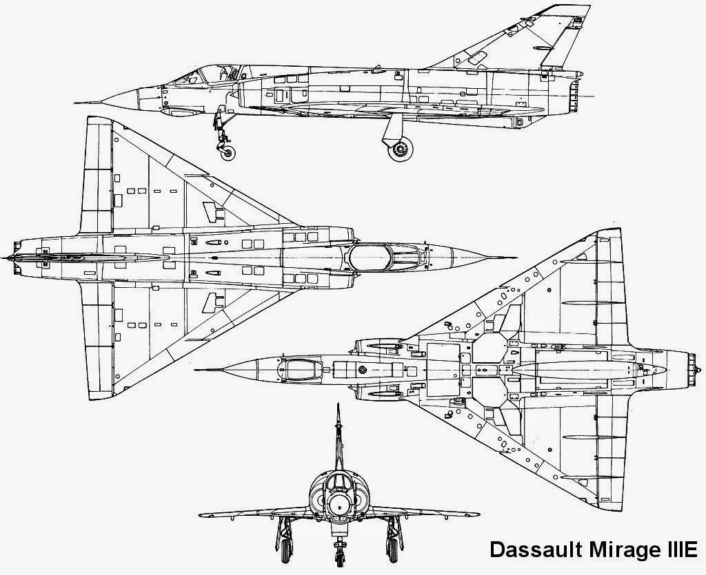 Aviones Caza Y De Ataque Dassault Mirage Iii