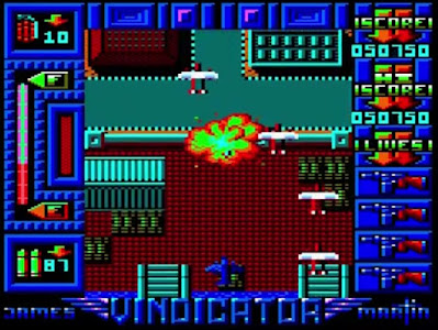 The Vindicator - Amstrad CPC
