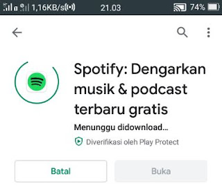 download lagu spotify -install aplikasi spotify