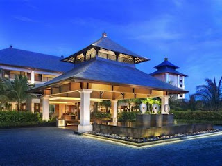 The St. Regis Bali is a five star hotel in Bali